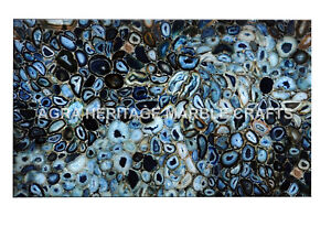 4'x2' Exclusive Marble Counter Height Table Top Beautiful Inlay Art Decor H4963A