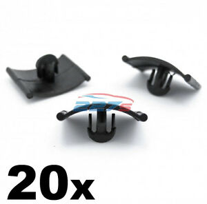 20x Vauxhall Bonnet Insulation Clip / Fastener - Corsa Astra Zafira Agila Vectra