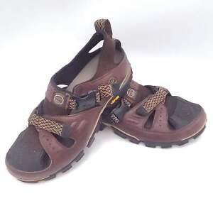 Timberland Mens Size 10 Timberland Leather Hiking Sandals 37111 with Vibram S...