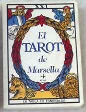 EL TAROT DE MARSELLA - PAUL MARTEAU - LA TABLA DE ESMERALDA - EDAF 2010 - VER