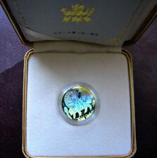 2002 Gold Horse Hologram Canadian Zodiac, W/BOX, COA, CASE ~ SCARCE ISSUE