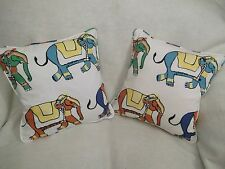 "PARADE BY SCHUMACHER 1 PAIR OF 18"" CUSHION COVERS"