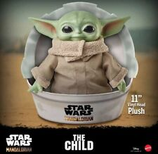 Star Wars Baby Yoda The Child The Mandalorian 11-Inch Plush Toy Figure