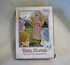 Precious Moments 1999 Tender Tails Bible Stories The 10 Commandments - Bluebird