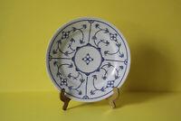 Kahla Blau Saks Indisch Blau Strohblume Speiseteller Teller 23,7 cm