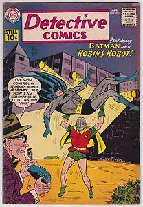 Detective Comics #290 VG+ 4.5 Batman Robin Robin's Robot 1961!