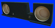 """FORD F150 SUPERCAB / EXTENDED CAB 2004-UP 12"""" BLACK SUBWOOFER SUB ENCLOSURE BOX"""