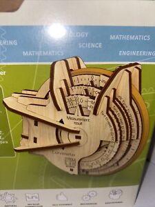 STEM LAB Curvimeter 3D Wooden Puzzle Model mechanical Ugears Learning Education