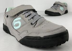Five Ten Maltese Falcon Mountain Bike Cycling Shoes Women's 8 EUR 39 Grey Blue
