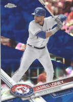 JAMES LONEY 2017 TOPPS CHROME SAPPHIRE EDITION #524 ONLY 250 MADE