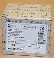 Moeller PFIM-40/4/003-XG Fehlerstrom-Schutzschalter 235742 4P FI-Schutz NEU