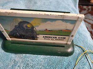 AMERICAN FLYER STEAM WHISTLING BILLBOARD No box