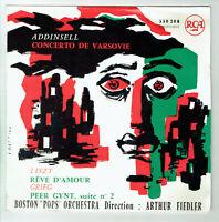 33T 25cm BOSTON POPS A. FIEDLER Vinyle CONCERTO VARSOVIE - PEER GYNT -RCA 330208