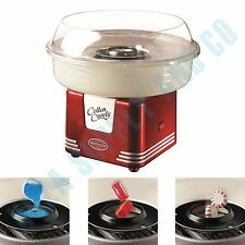 Cotton Candy Maker Floss Sugar Machine Cones Countertop Electric Nostalgia Retro