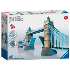 Ravensburger 3d London Tower Bridge Puzzle 216pc Jigsaw