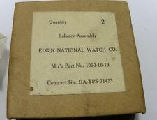 NOS ELGIN NEW BALANCE FOR POCKET WATCH MOVEMENT PART