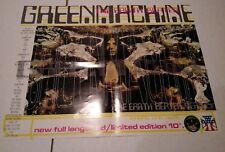 Green Machine The Earth Beater Poster  Man's Ruin Frank Kozik