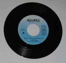 "April Wine - Canadian 45 - ""Rock N' Roll Is A Vicious Game"" / ""I'm Alive"" - VG+"