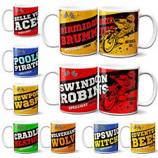 More details for personalised speedway mug cup motorbike racing birthday fathers day gift spm