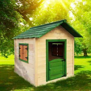 BRAST Spielhaus für Kinder Kinderspielhaus Stelzenhaus Garten Baum Turm Holzhaus
