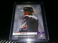 2019 TOPPS NOW CARD ATLANTA BRAVES RONALD ACUNA JR #34 HISTORIC 8 YR EXTENSION