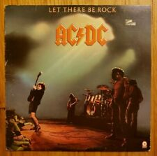 AC/DC - Let There Be Rock ATCO LP Vinyl A/B Wax, Specialty Pressing Club ED. VG+