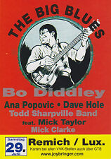 Bo Diddley Konzert in Remich Luxembourg 29.06.2002 POSTKARTE Anna Popovic Mick T