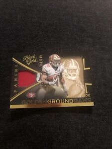 2015 Panini Black Gold Massive Materials Carlos Hyde Jersey Patch /199 #MSM-CH
