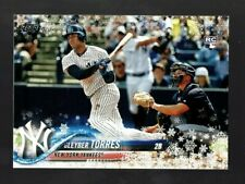 2018 TOPPS HOLIDAY HMW182 GLEYBER TORRES RC NEW YORK YANKEES