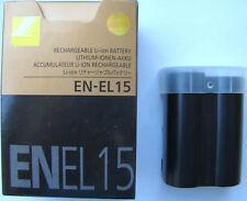 BATTERY EN-EL15 FOR NIKON  D800E D810 D750 V1 D600 D610
