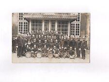 CPA Carte postale ancienne militaria (groupe pompier à définir)