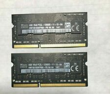 SK Hynix 2X4GB 1Rx8 PC3L-12800S-11-12-B4 HMT451S6AFR8A-PB DDR3 RAM SODIMM