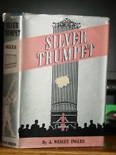Silver Trumpet, Jazz Age Romance Novel J. Wesley Ingles, Rare Dust Jacket