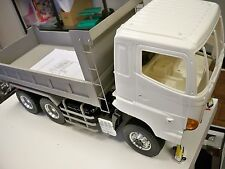 LESU Full Metal 6x6 Hydraulic Dump Truck RTR, (Cab is plastic) Unpainted Body