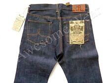 New Ralph Lauren RRL Rigid Denim Straight Leg Dark Wash Jeans size 29 x 32