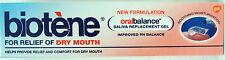 Biotene para el alivio de la boca seca, oralbalance saliva Reemplazo Gel, 50g