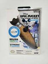 DISNEY EPIC MICKEY PAINTBRUSH NUNCHUK CONTROLLER FOR NINTENDO WII & WII U