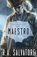 Maestro: Legend of Drizzt Homecoming by R. A. Salvatore HARDCOVER - BRAND NEW!