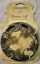 Merry Christmas Festive Collection Illuma-Lid Candle Topper Yankee Candle NEW