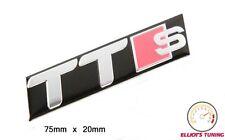 AUDI SPORT TTS BADGE EMBLEM fits A3 A4 S3 S4 A5 A6 TT SLINE QUATTRO DTM A1 R8