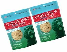New listing Charlee Bear Dog Treats with Cheese & Egg 2Pack