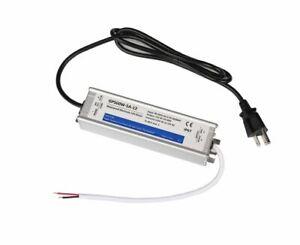 Facon LED Driver Transformer AC 120V to DC 12V Adapter Charger for 12V LED Light