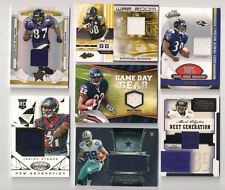 2008 LEAF R & S RAVENS DEMETRIUS WILLIAMS JERSEY CARD #9 (#188/250)