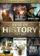 The Best of History Gift Set DVD17-Disc Set 2015 Lionsgate US and World Culture