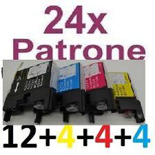 24 Patronen für MFC-J6710DW MFC-J6910DW MFC-J825DW ersetzt Brother LC1240 LC1220