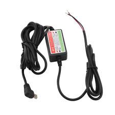 NEW Mini USB Car Dash Cam Charger Hardwire Kit Camcorder DVR 12V-24V to 5V YG