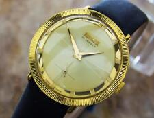 Precimax Swiss Made Gold Plated Manual Dress Watch For Men Circa 1960s SIW033