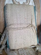 Antique Lace Vintage Off White Trim 5yd Ballet Dolls Furnishings Vintage Wedding