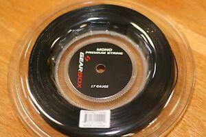 GEARBOX MONO Premium BLACK String 17 gauge 660 feet reel strings