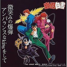 Yu yu Hakusho YuYu Anime Soundtrack Cd Japanese 4